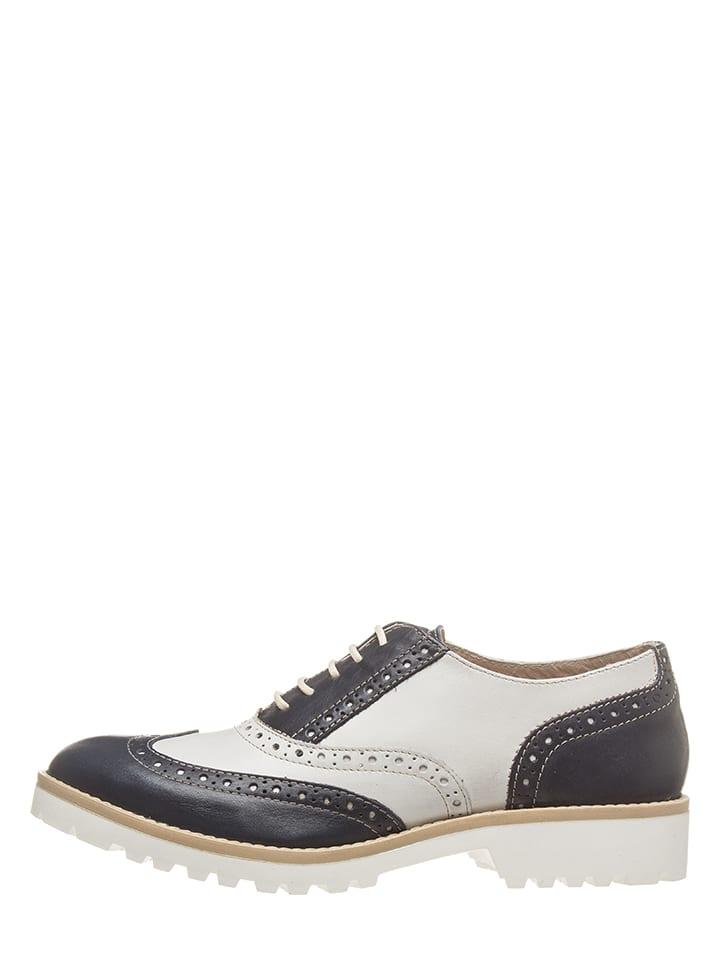 Chaussures Bata Lacets À Bas Blancbleu Foncé Cuir En Acheter tQrCsdhx