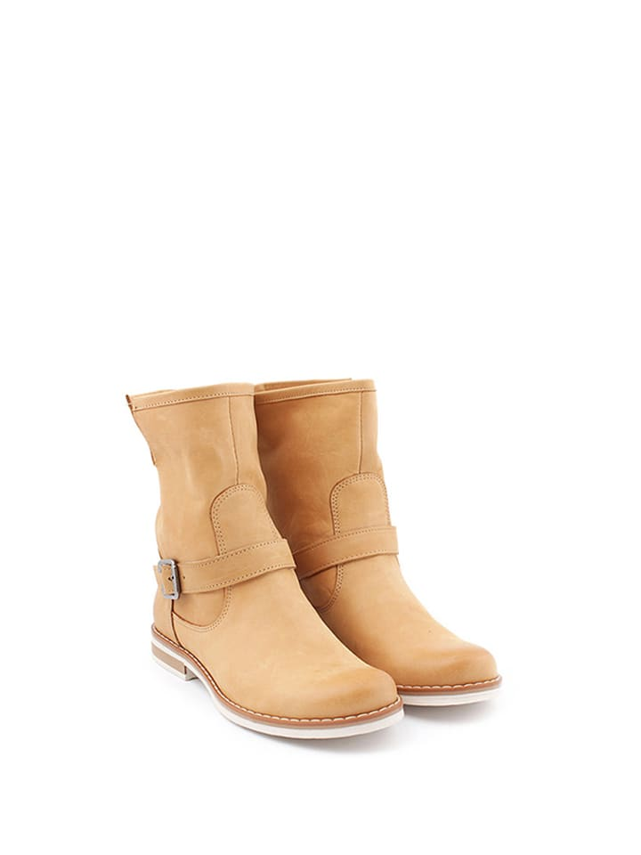 Zapato Leder-Boots in Hellbraun