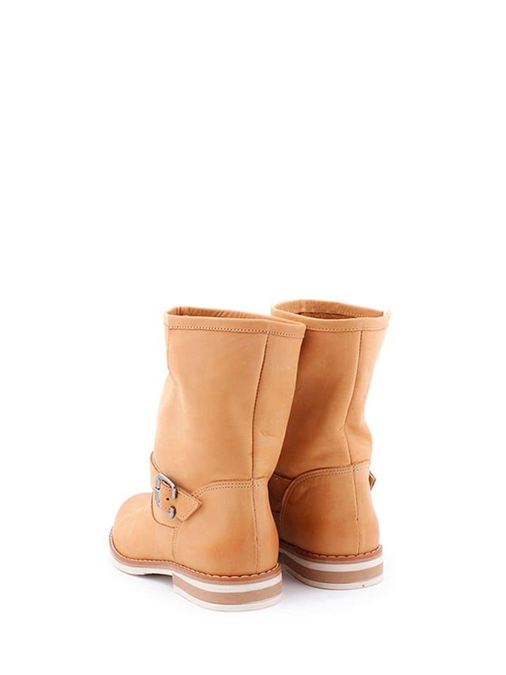 Hellbraun Zapato Boots Hellbraun Leder in in Boots Zapato Leder Zapato Boots Leder FFwqr7nzP