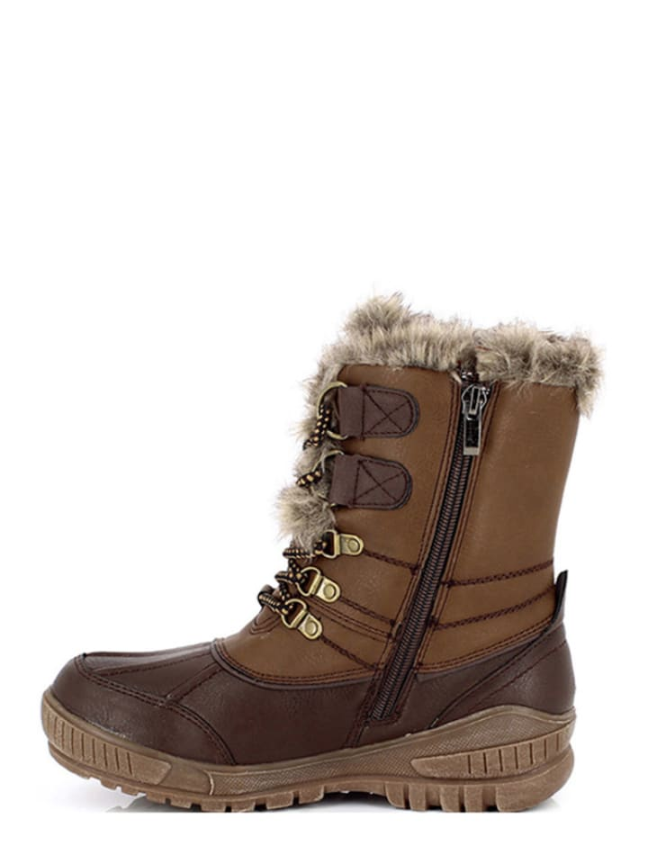 "Kimberfeel Winter-Boots ""Sahra"" in Braun"