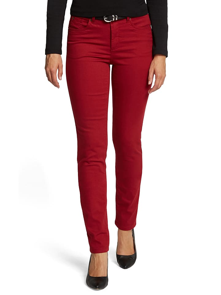 """H.I.S Jeans """"Marylin"""" - Comfort fit - in Rot"""