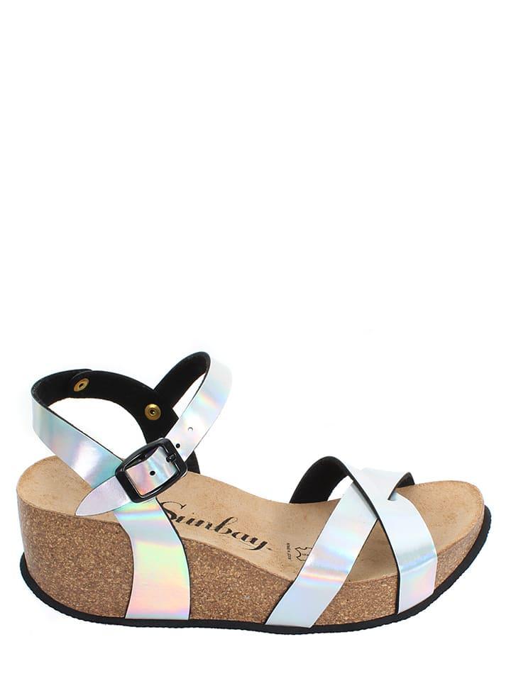 Sunbay Sandaletten in Silber
