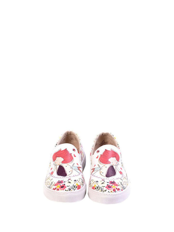 Goby Slipper in Creme/ Bunt