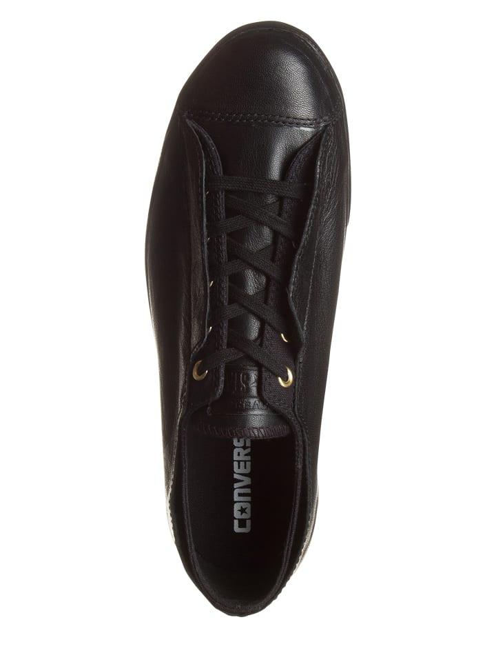 Sneakers Converse Leder Schwarz Sneakers Leder Converse Schwarz in in Converse Leder IUqc8ZRw