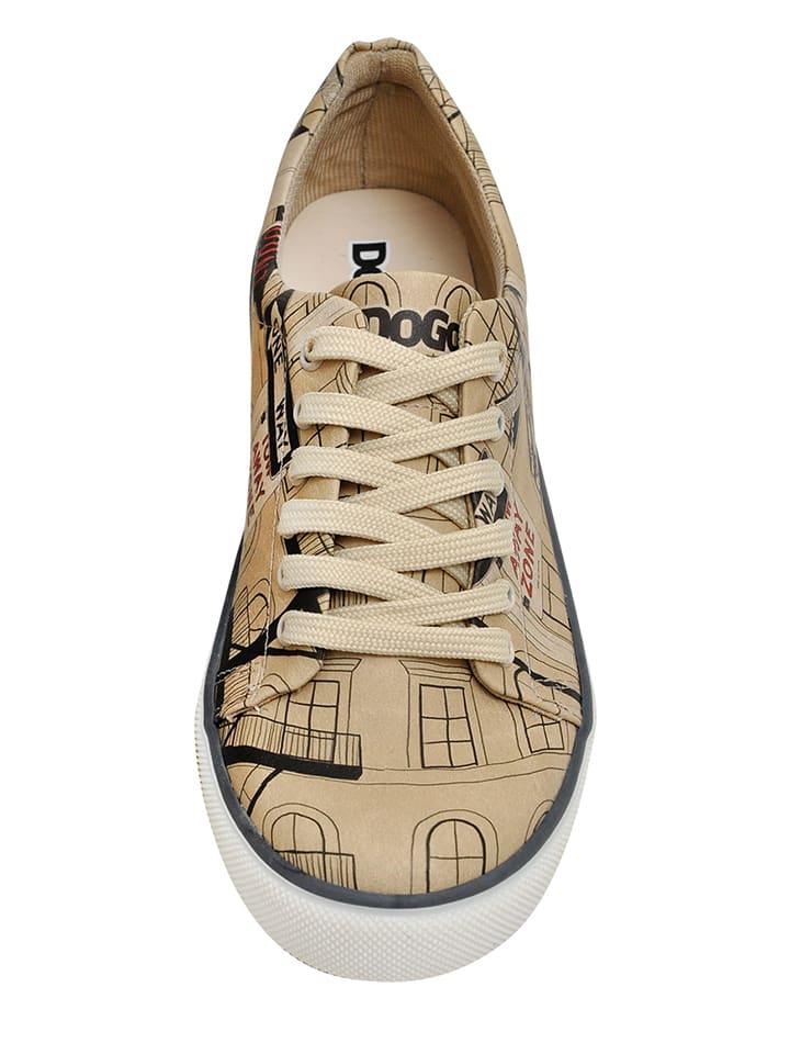 """Dogo Sneakers """"Big Apple"""" in Beige"""