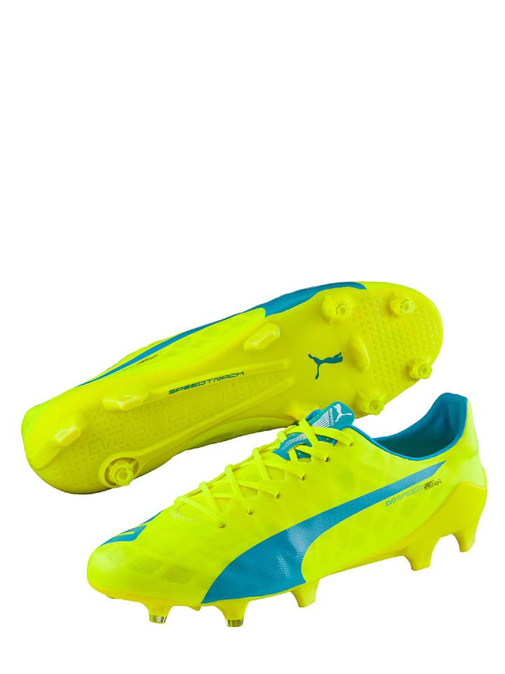 Wezzt5 Crampons Puma Sl Limebleu Avec Evospeed De Chaussures Fg Foot ul15c3FTKJ