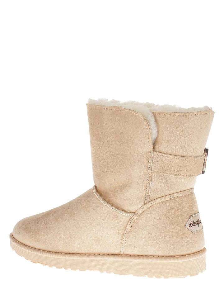 "Blackfield Winterboots ""Myrtille"" in Beige"