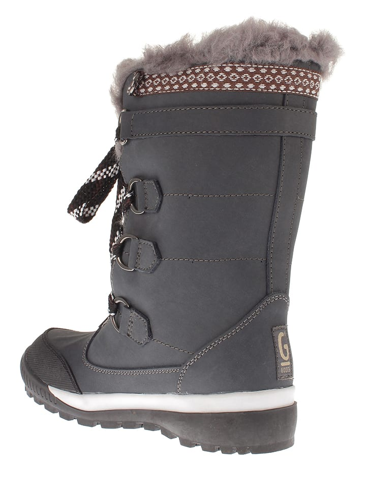 "Gooce Winterstiefel ""Queyras"" in Anthrazit"