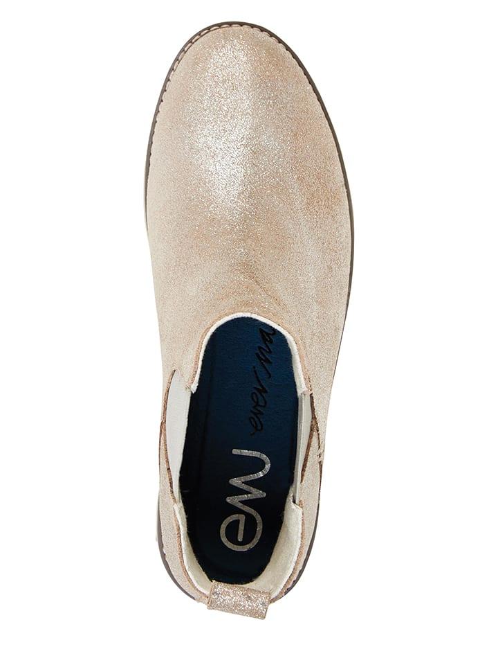 "EMU Leder-Chelsea-Boots ""Taria"" in Silber"