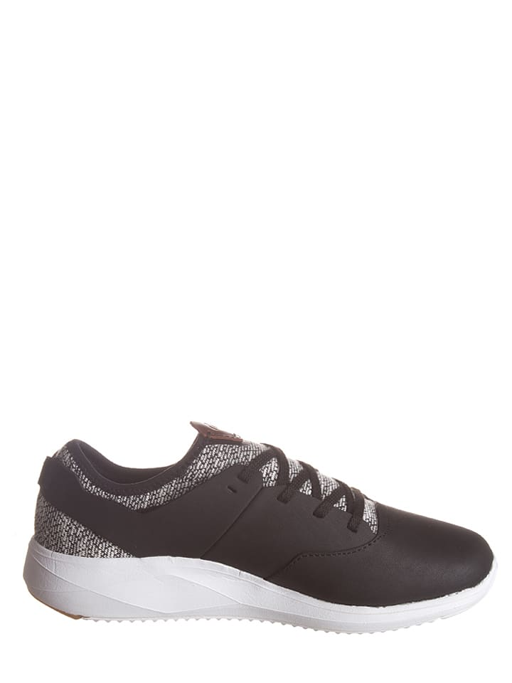 "Boxfresh Leder-Sneakers ""Ceza"" in Schwarz"
