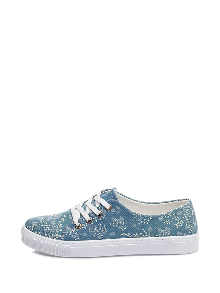 Blau Sneakers in Cotto Sneakers Bunt Cotto w7qI0vxp