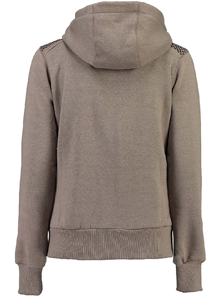 """Geographical Norway Kapuzenjacke """"Fitness"""" in Taupe"""
