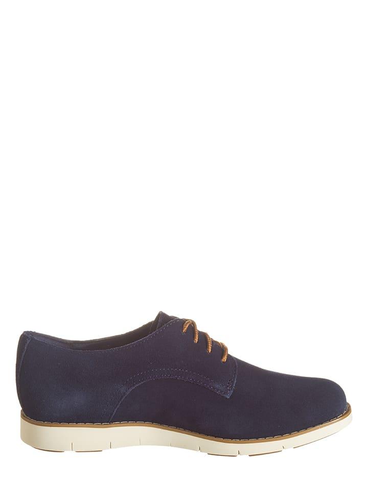 Chaussures Cuir Lacets Foncé Timberland Derby En À Bleu gqRcwB