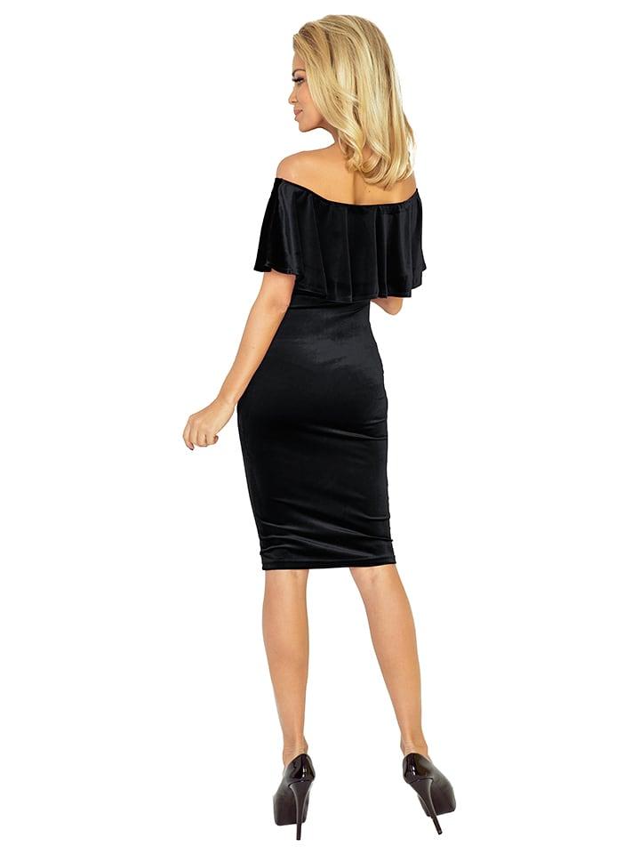 Numoco Kleid in Schwarz