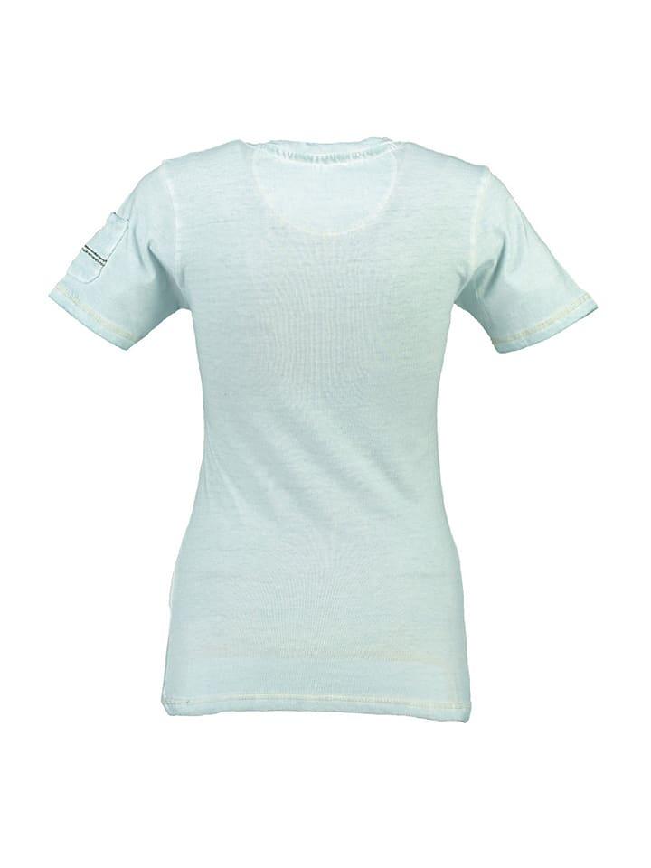 """Geographical Norway Shirt """"Jbeaute"""" in Hellblau"""