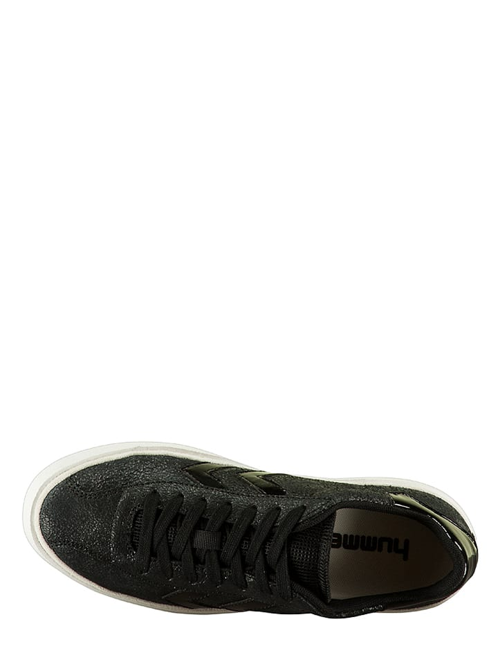 "Hummel Leder-Sneakers ""Diamant"" in Schwarz"