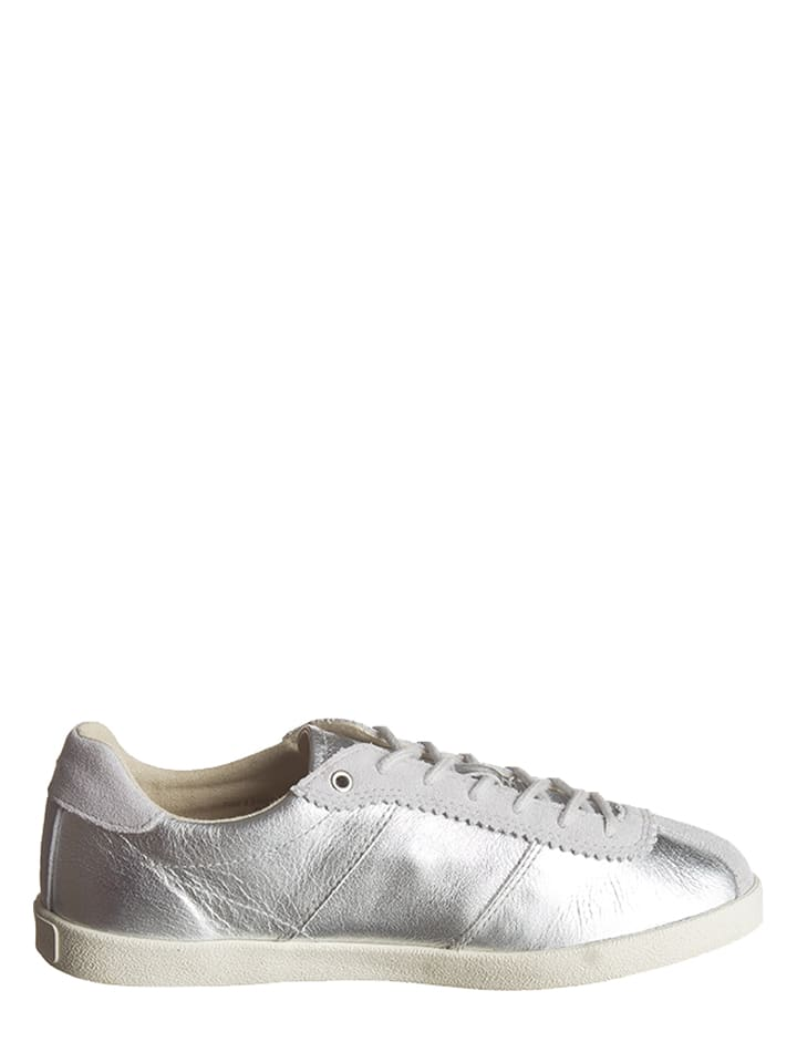 Marc O'Polo Shoes Leder-Sneakers in Silber