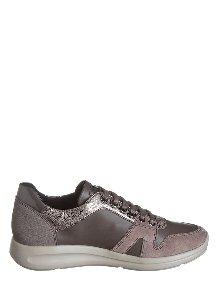 "Geox Sneakers ""Agyleah D"" in Hellbraun/ Taupe"