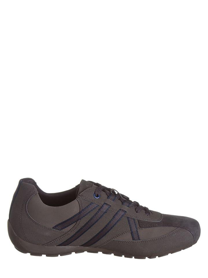 """Geox Sneakers """"Ravex B"""" in Braun/ Taupe"""