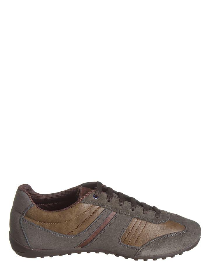 """Geox Sneakers """"Garlan"""" in Braun"""