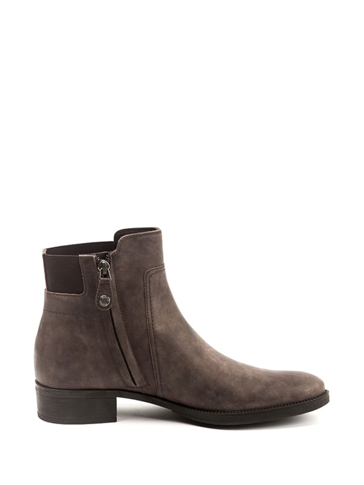 Geox Leder-Boots in Braun