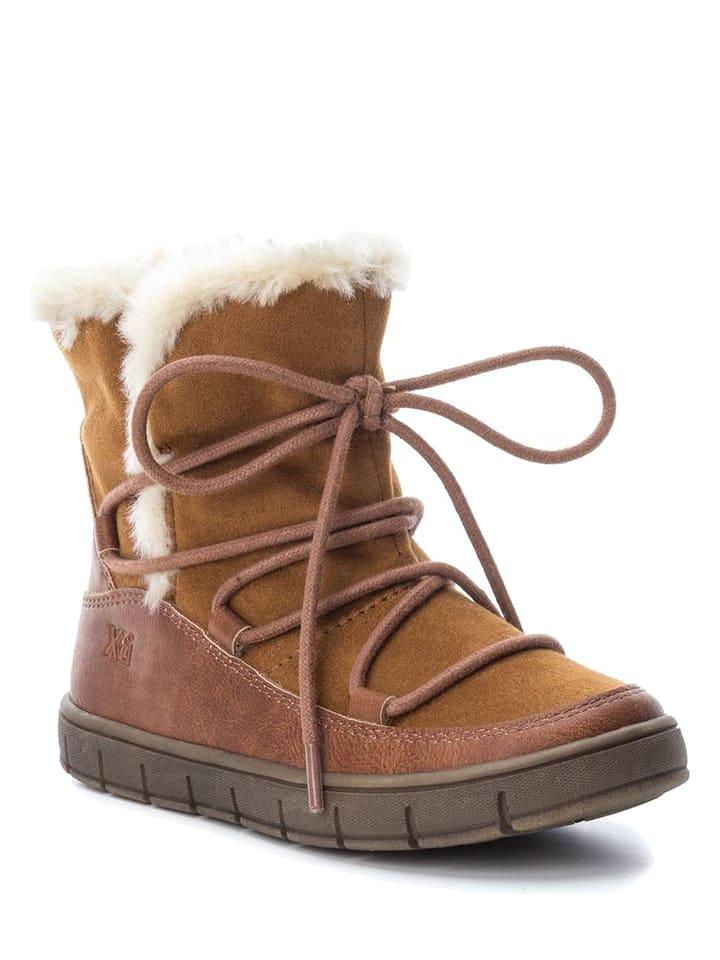 XTI Kids Boots in Hellbraun
