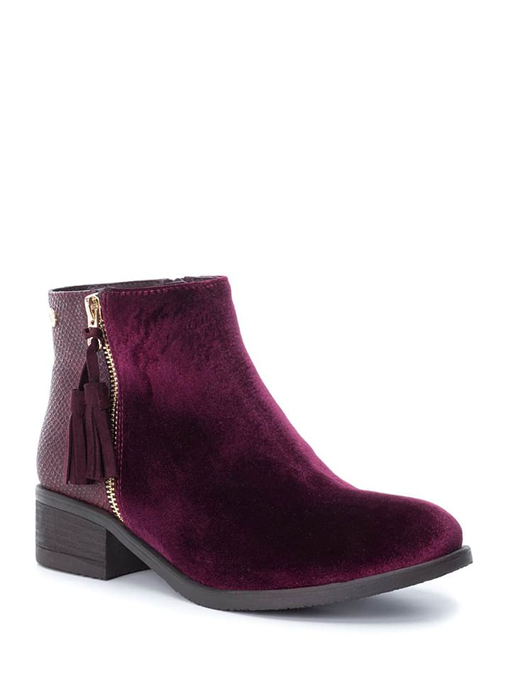 Xti Ankle-Boots in Bordeaux