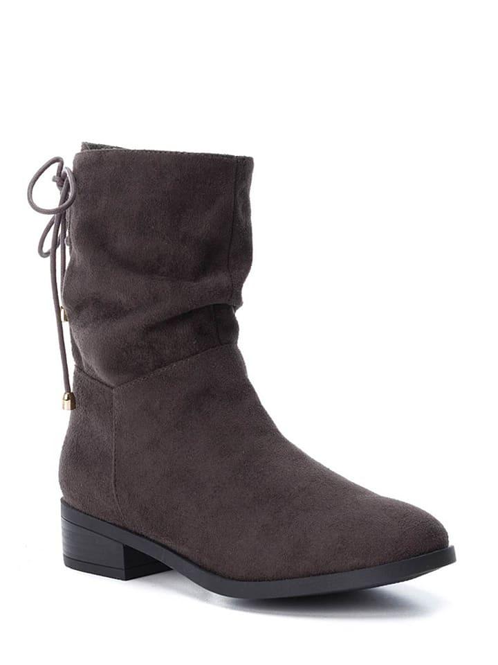 Xti Boots in Grau