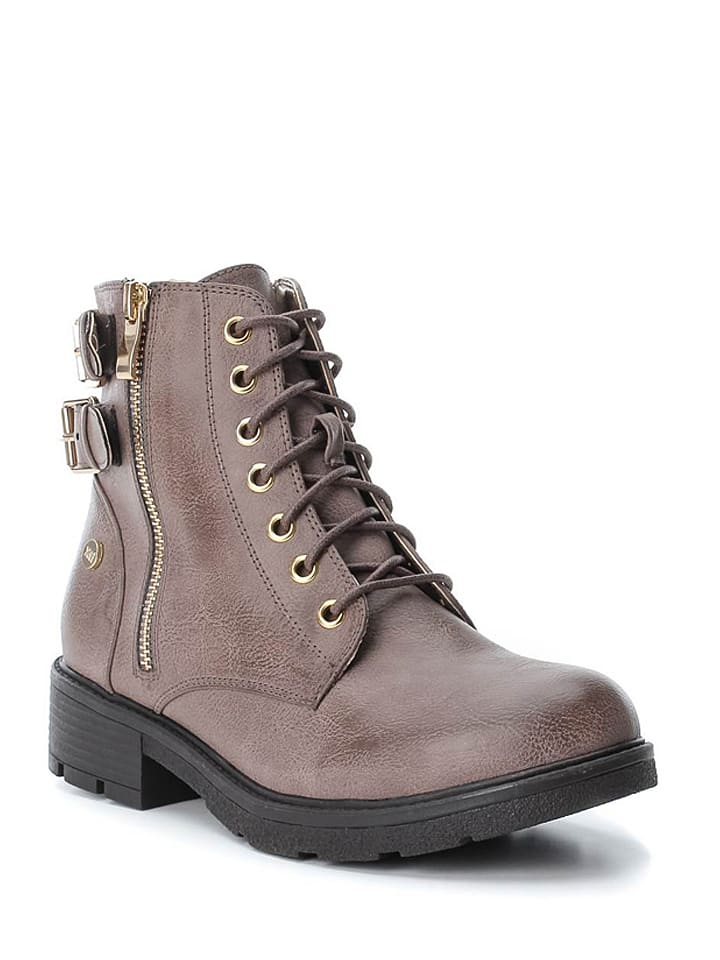 Xti Boots in Taupe