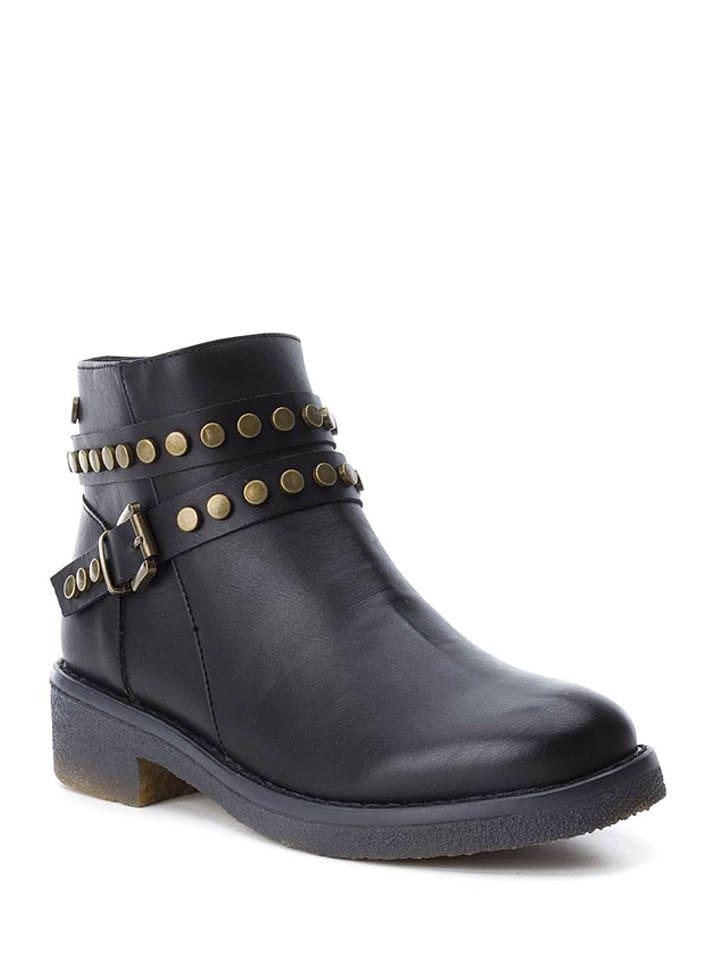 Xti Ankle-Boots in Schwarz