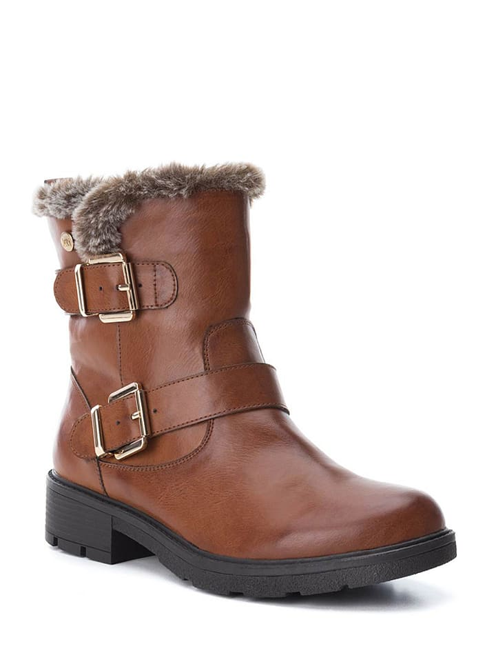 Xti Boots in Camel