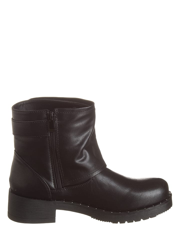 CAF猫NOIR Boots in Schwarz