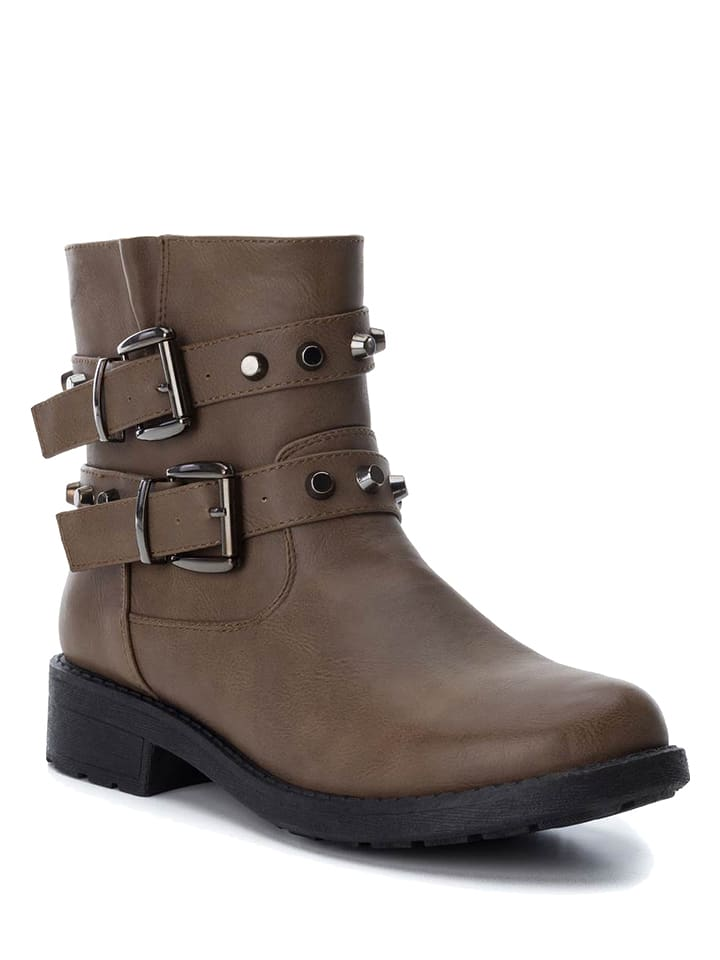 Refresh Boots in Taupe