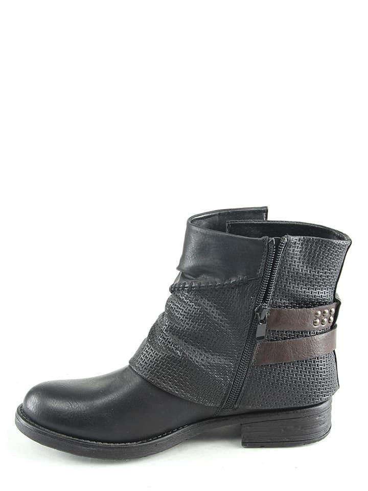 Sens Sens in Boots Boots Sixth in Schwarz Sixth I7IRqPnB6w