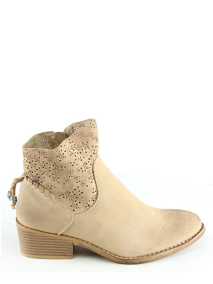 Sixth Sens Boots in Beige
