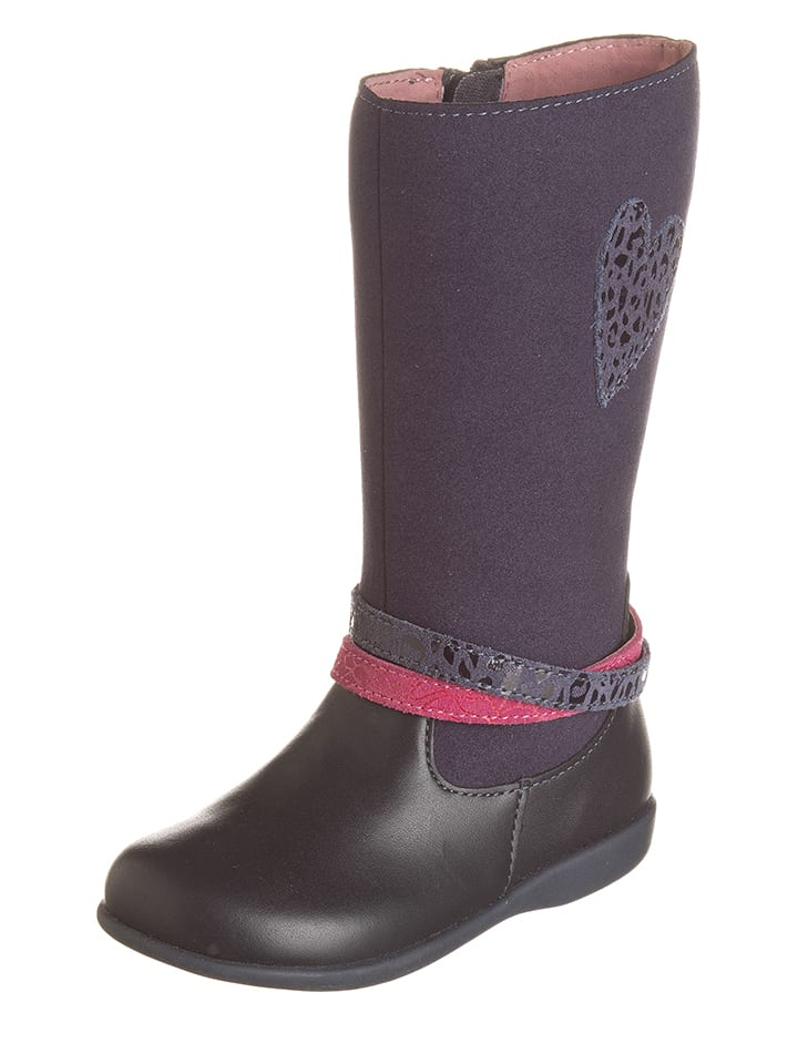 100% authentic 4d717 1b74a lea-lelo-leder-stiefel-in-dunkelblau.jpg