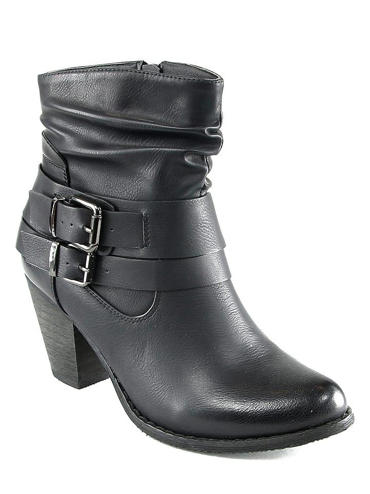 Chc Shoes Stiefeletten in Schwarz