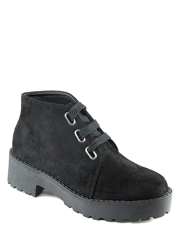 Chc Shoes Schn眉rschuhe in Schwarz