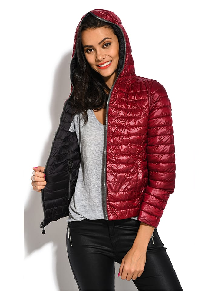 "The Snowflake Collection Wende-Jacke ""Jodie"" in Rot/ Schwarz"