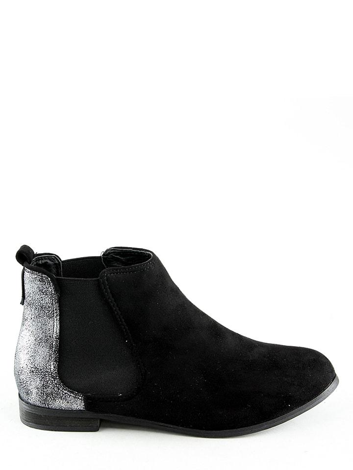 La Bottine Souriante Chelsea-Boots in Schwarz