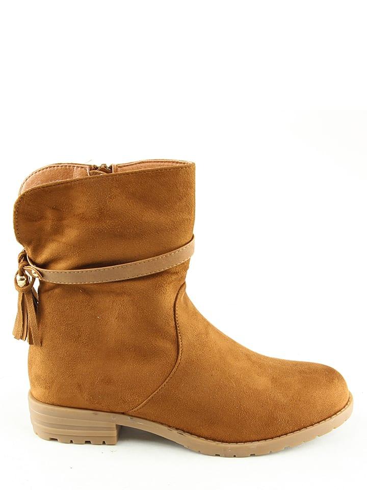 La Bottine Souriante Boots in Hellbraun