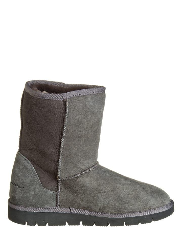 "Kitz-pichler Leder-Stiefel ""Amy"" in Grau"