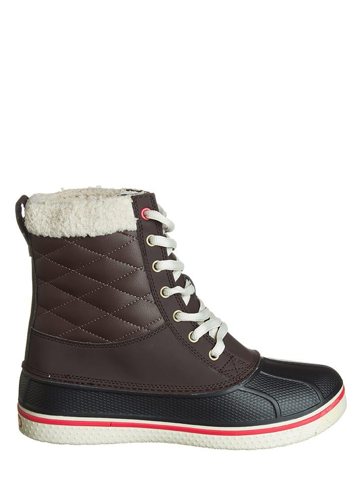 "Crocs Boots ""AllCast Waterproof"" in Braun/ Creme"