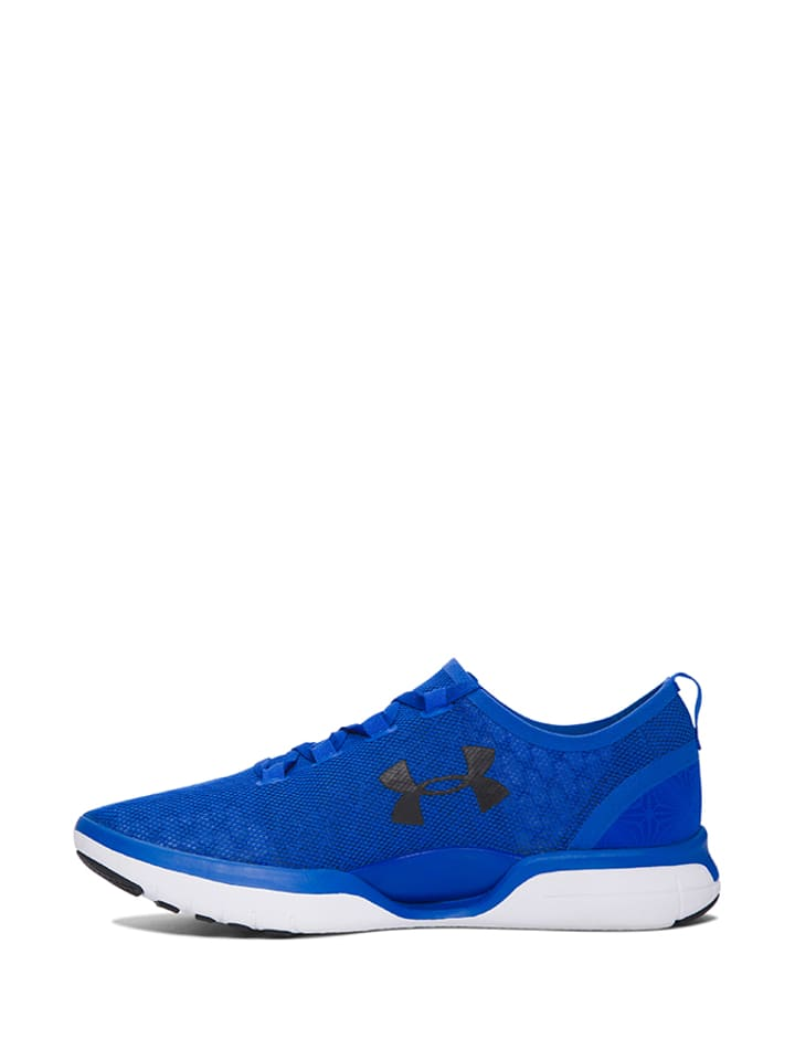 "Under Armour Turnschuhe ""Charged CoolSwitch Run"" in Blau/ Wei"