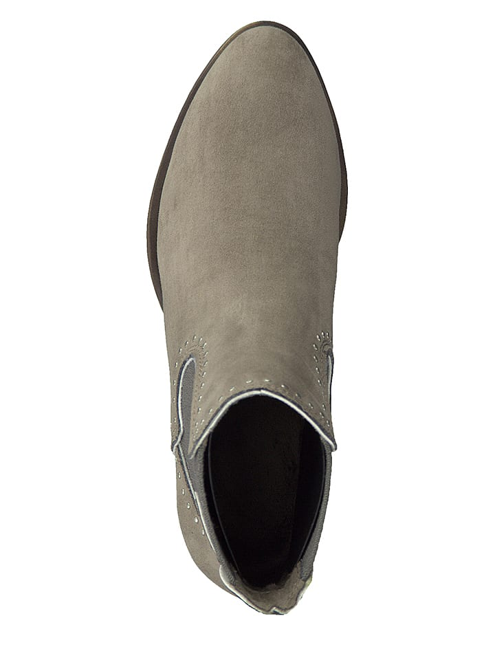 Marco Tozzi Chelsea-Boots in Beige