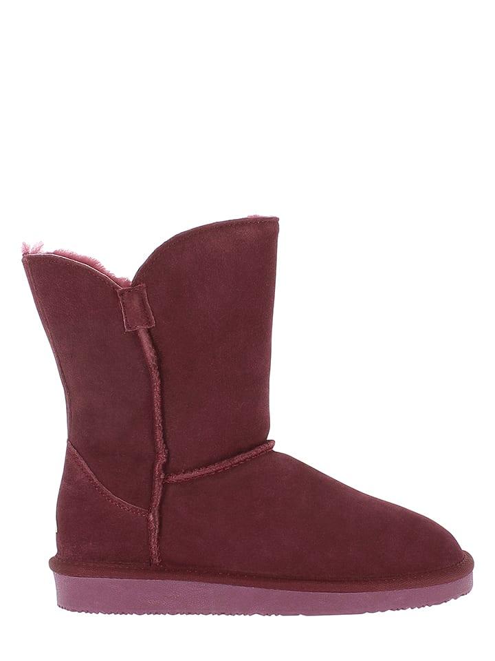 "NICEBAY Leder-Boots ""Cabildo"" in Bordeaux"
