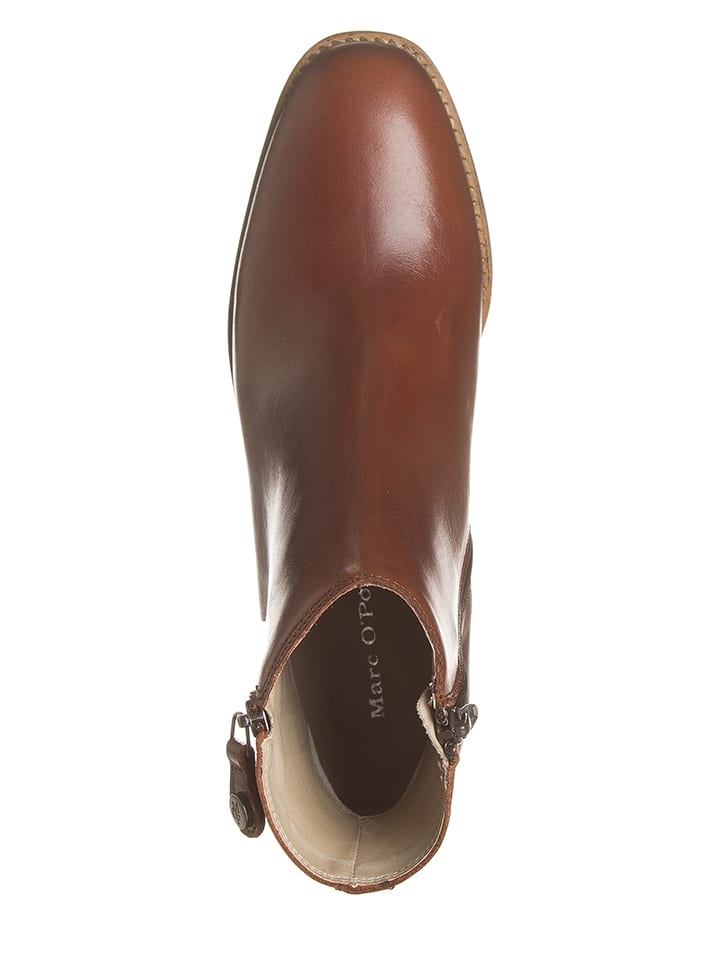 Marc O'Polo Shoes O'Polo Stiefeletten Leder Marc Braun in BBE4WwqrzP