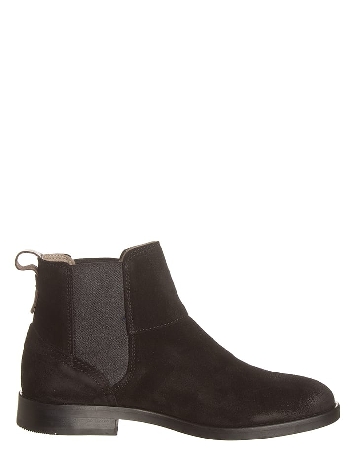 Marc O'Polo Shoes Leder-Chelsea Boots in Schwarz