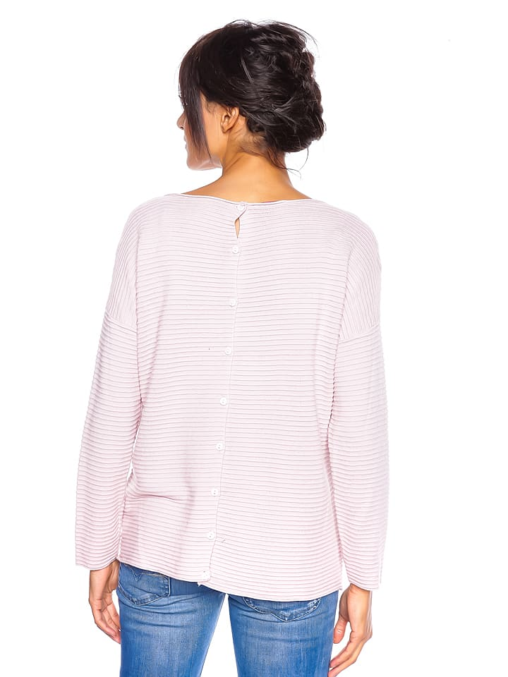 "So Cachemire Pullover ""Corinne"" in Rosa"