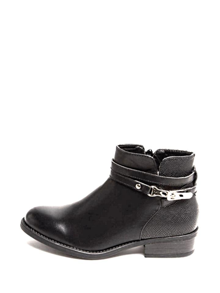 Carla Samuel Ankle-Boots in Schwarz